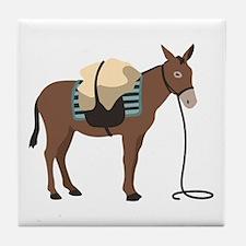 Pack Mule Tile Coaster