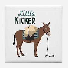 Little KICKER Tile Coaster