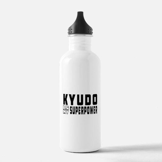 Kyudo Is My Superpower Water Bottle
