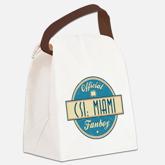 Official CSI: Miami Fanboy Canvas Lunch Bag