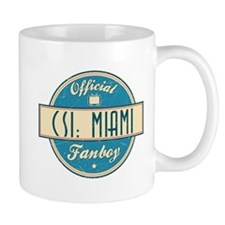 Official CSI: Miami Fanboy Mug
