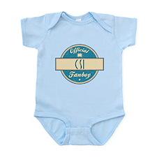 Official CSI Fanboy Infant Bodysuit