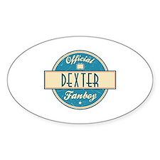 Official Dexter Fanboy Oval Decal