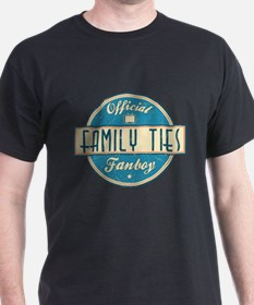 Official Family Ties Fanboy T-Shirt