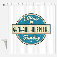 Official General Hospital Fanboy Shower Curtain