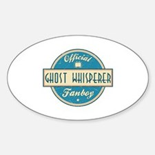 Official Ghost Whisperer Fanboy Oval Decal