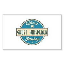Official Ghost Whisperer Fanboy Rectangle Decal
