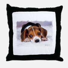 Pocket Beagle Throw Pillow