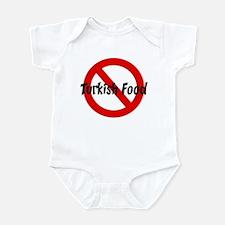 Anti Turkish Food Infant Bodysuit