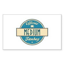 Official Medium Fanboy Rectangle Decal