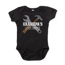 Grandpa's Little Helper Baby Bodysuit
