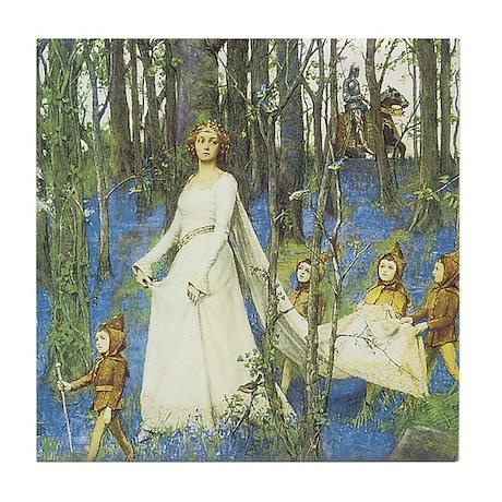 Fairy Woods - Tile Coaster