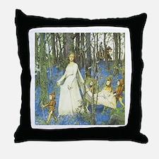 Fairy Woods - Throw Pillow