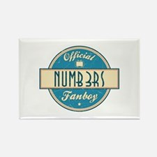 Official Numb3rs Fanboy Rectangle Magnet