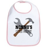 Nonnos little helper Cotton Bibs