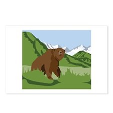 Grizzly Bear Mountains Postcards (Package of 8)