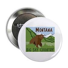 """MONTANA BIG SKY COUNTRY 2.25"""" Button"""