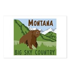 MONTANA BIG SKY COUNTRY Postcards (Package of 8)