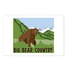 BIG BEAR COUNTRY Postcards (Package of 8)