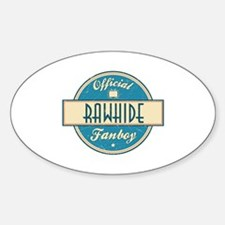 Official Rawhide Fanboy Oval Decal