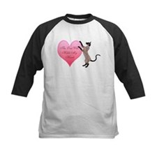 Valentine Cat Baseball Jersey