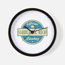 Official Schoolhouse Rock! Fanboy Wall Clock
