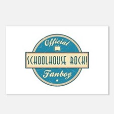 Official Schoolhouse Rock! Fanboy Postcards (Packa