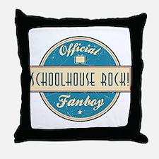 Official Schoolhouse Rock! Fanboy Throw Pillow