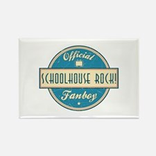 Official Schoolhouse Rock! Fanboy Rectangle Magnet