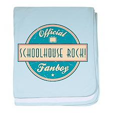 Official Schoolhouse Rock! Fanboy Infant Blanket