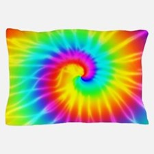 Retro Tie Dye Effect Pillow Case