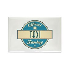 Official Taxi Fanboy Rectangle Magnet