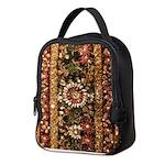 Beaded Indian Saree Photo Neoprene Lunch Bag
