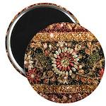 Beaded Indian Saree Photo Magnet