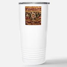 Beaded Indian Saree Pho Travel Mug