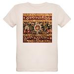 Beaded Indian Saree Photo Organic Kids T-Shirt