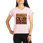 Beaded Indian Saree Photo Performance Dry T-Shirt