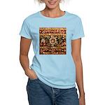 Beaded Indian Saree Photo Women's Light T-Shirt