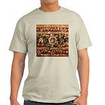 Beaded Indian Saree Photo Light T-Shirt