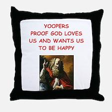 yoopers Throw Pillow