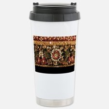 Beaded Indian Saree Pho Travel Mug