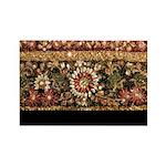 Beaded Indian Saree Ph Rectangle Magnet (100 pack)