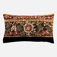 Beaded Indian Saree Photo Pillow Case