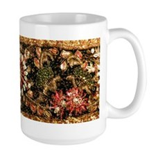 Beaded Indian Saree Photo Mug
