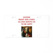 cajun Aluminum License Plate