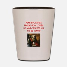 pennsylvania Shot Glass