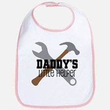 Daddy's Little Helper Bib