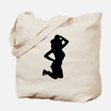 Sexy Cowgirl Silhouette Tote Bag