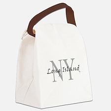 Long Island thru NY Canvas Lunch Bag