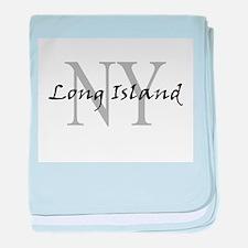 Long Island thru NY baby blanket
